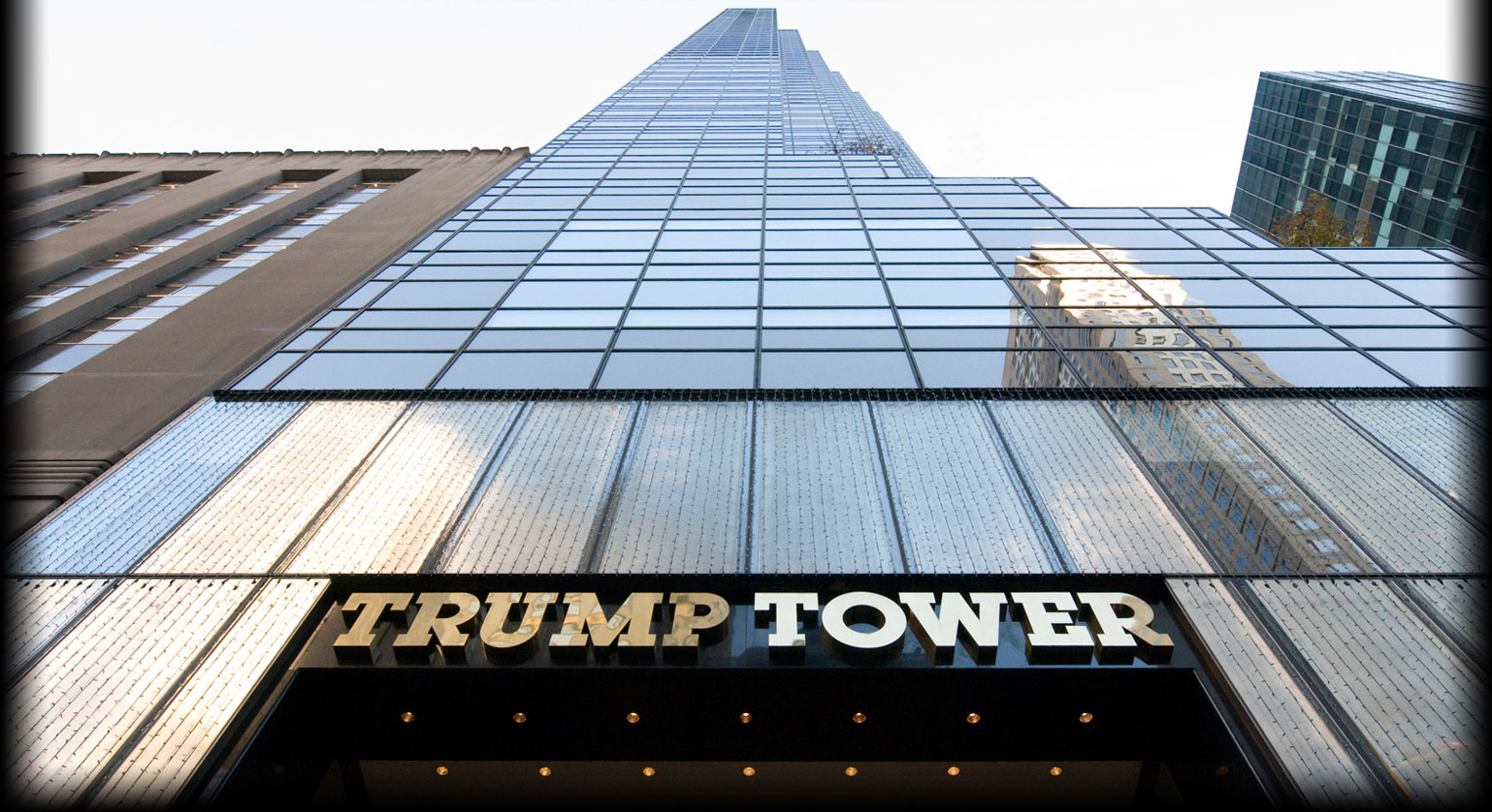 Tháp Trump Tower tại New York.