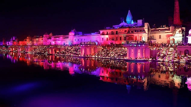 thanh pho ayodhya o an do lap ky luc guinness don le hoi anh sang diwali