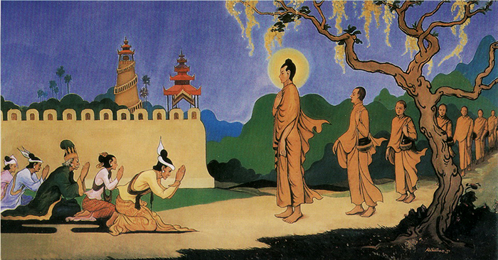 """Đức Phật giảng như thế nào về """"chia phước""""?"""