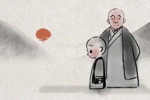 Như thế nào mới thực sự là buông bỏ? Câu chuyện ý vị của hai thầy trò tiểu hòa thượng sẽ giúp bạn trả lời