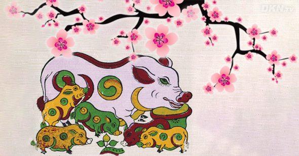Năm Hợi ngắm tranh 'đàn lợn âm dương' để tìm hiểu bí mật giúp gia đình bạn êm ấm, sung túc