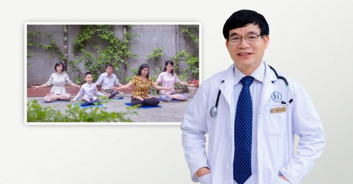 PGS.TS. Thầy thuốc Nhân dân Trần Đình Chiến lý giải nguyên nhân vì sao tập khí công có thể khỏi bệnh