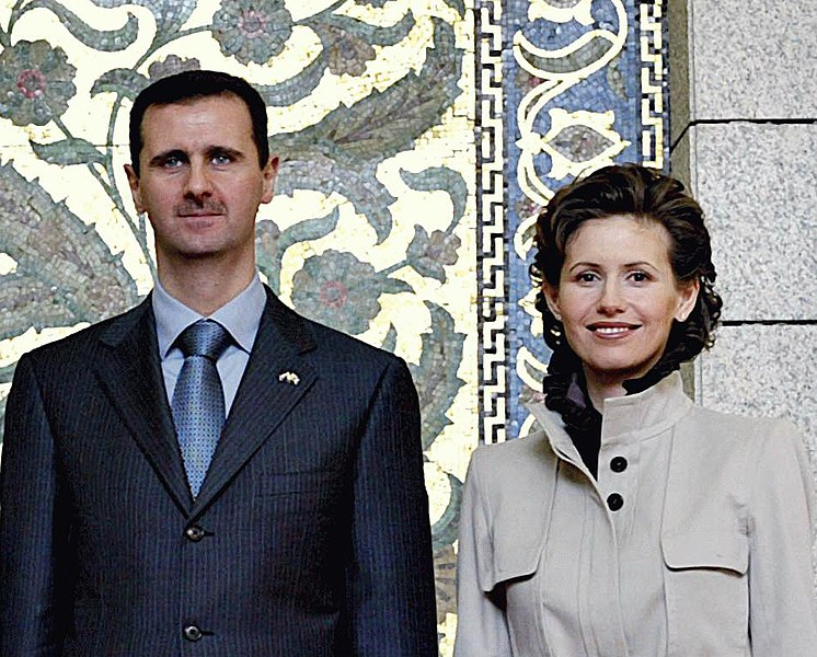 Tập tin:Bashar and Asma al-Assad.jpg