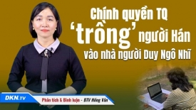 Chính quyền TQ 'trồng' người Hán vào nhà người Duy Ngô Nhĩ