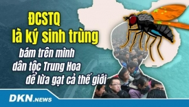 ĐCSTQ là ký sinh trùng bám trên mình dân tộc Trung Hoa để lừa gạt cả thế giới
