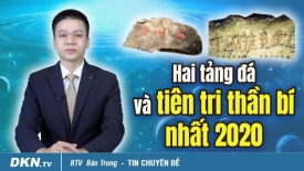 Hai tảng đá và tiên tri thần bí nhất 2020